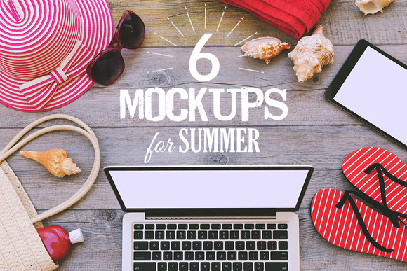 6 Mock-ups For Summer
