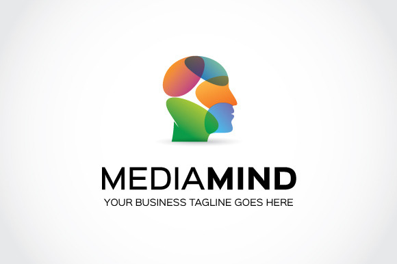 Media Mind Logo Template