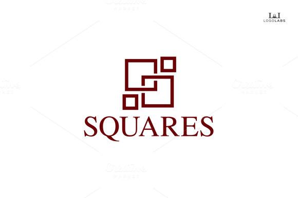 Squares Classy Logo