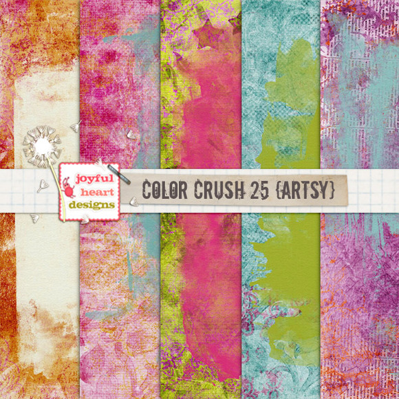 Color Crush 25 {artsy}