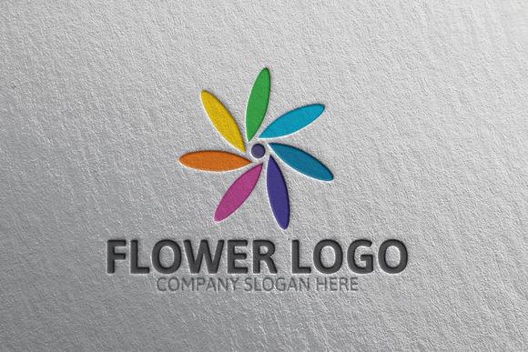 Gorgeous Flower Logo