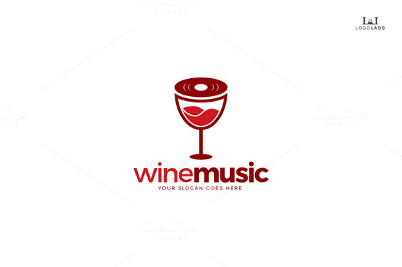 Music Wine Logo