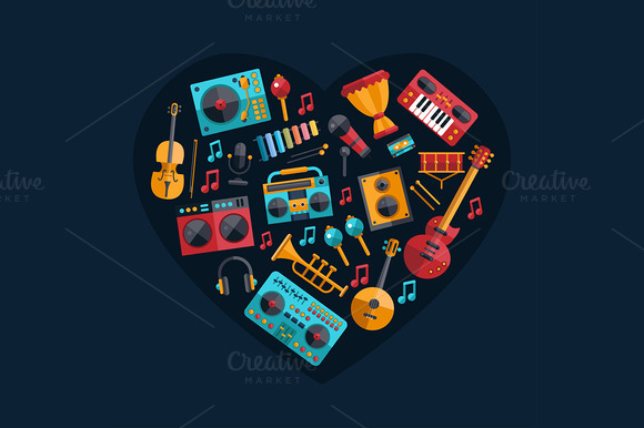 Musical Instruments Composition
