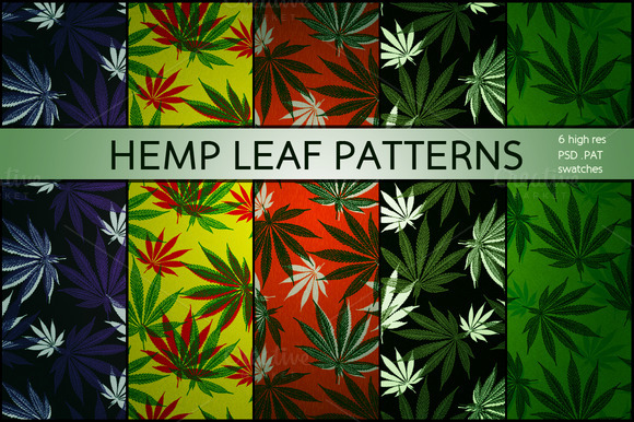 Hemp Leaf Patterns