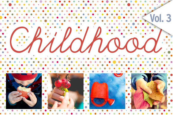 CHILDHOOD Set 3 48x HiRes Images