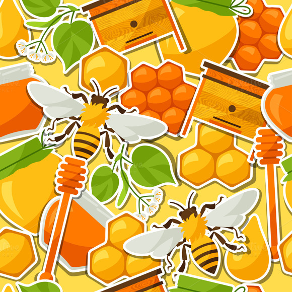 Patterns With Honey Stickers