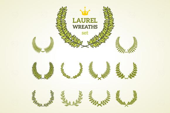 11 Laurel Wreaths
