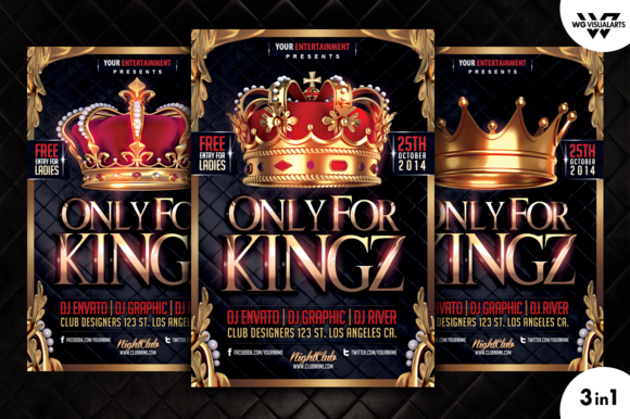 ROYAL KING Flyer Template