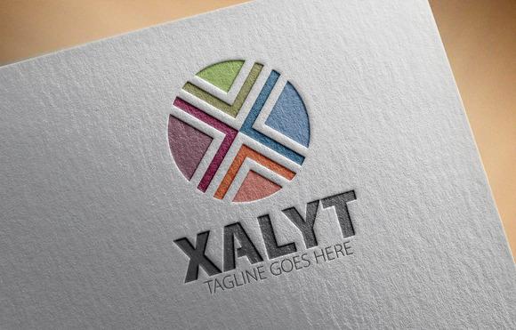 Xalty X Letter Logo