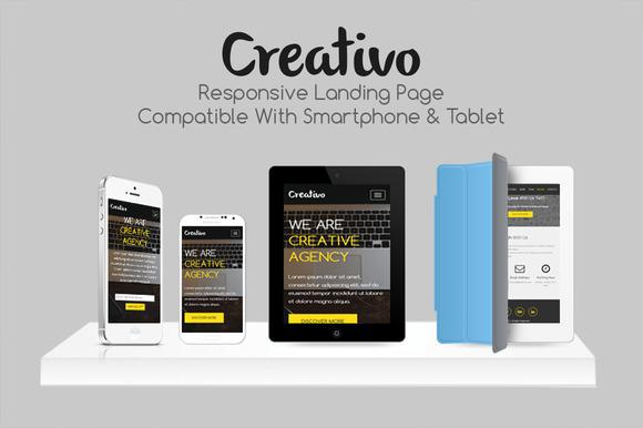 Creativo Responsive Landing Page