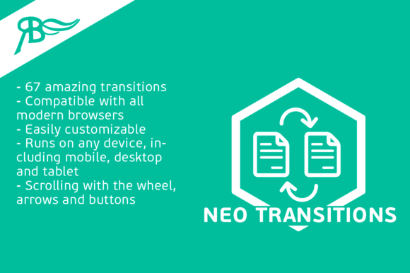 NeoTransitions 3.7 Adobe Muse