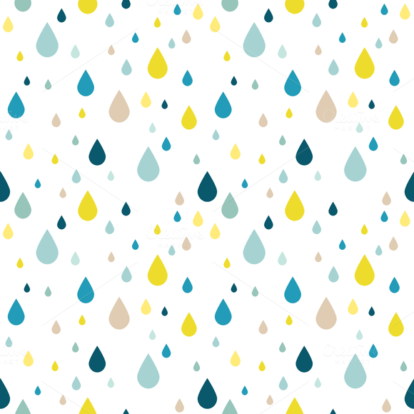 Raindrop Pattern Extended License