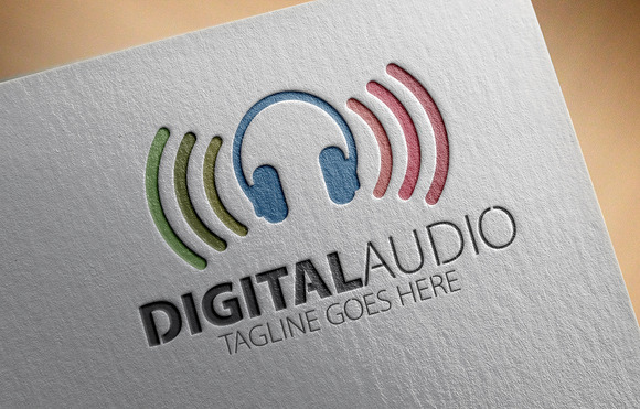 Digital Audio Logo