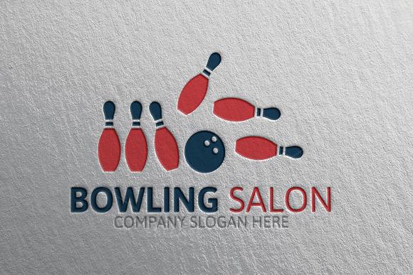 Bowling Sport Salon Logo