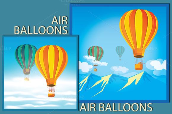 Air Balloons Set