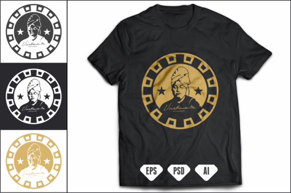 Swami Vivekananda T-Shirt Design