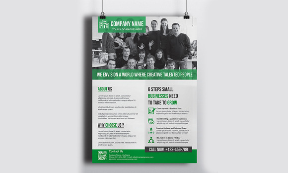 Corporate Flyer Template Vol 9