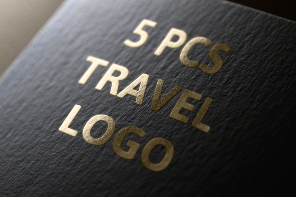 5 Pcs Travel Logo