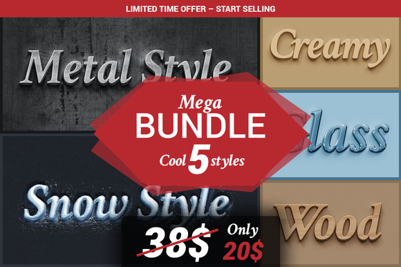BUNDLE Cool 5 Styles