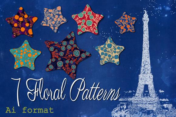 7 Floral Patterns