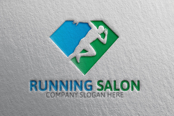 Running Salon Logo