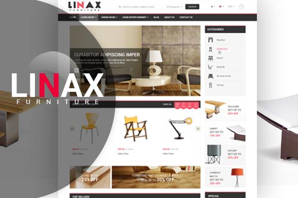 Linax Magento Theme