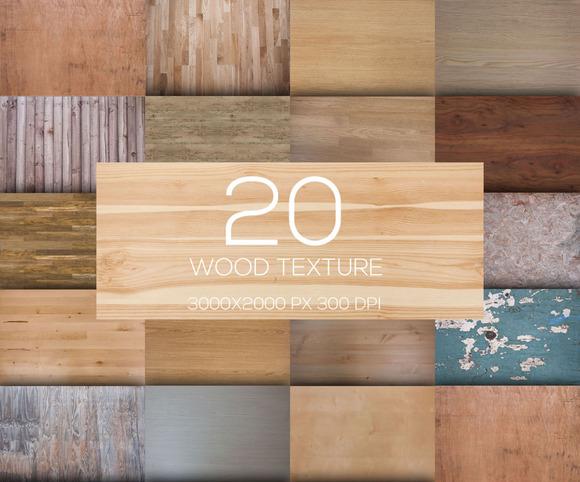 20 Wood Texture V.15