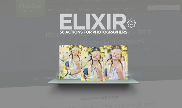 Elixir 50 Actions Set
