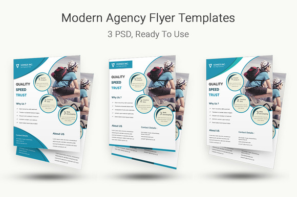 Modern Agency Flyer Templates