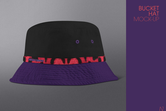 Bucket Hat Mock-up
