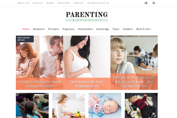Parenting Blogging Theme