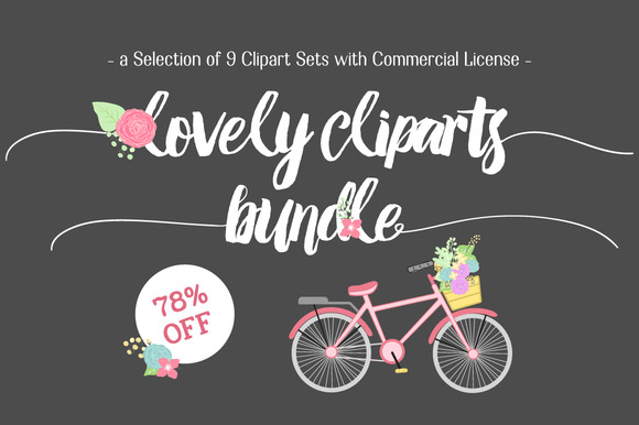 Graphic Bundle Clip Art Collection