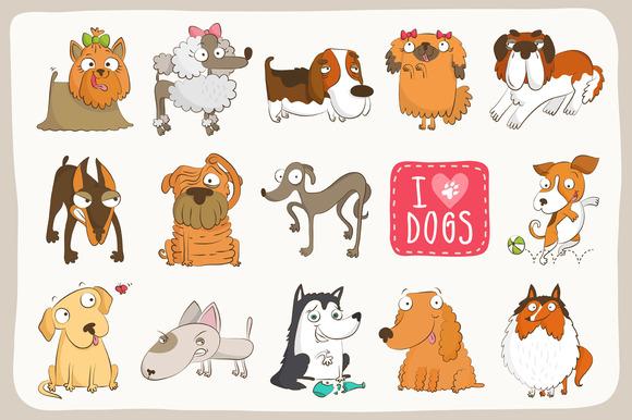 Adorable Dog Collection