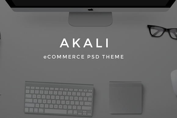 Akali ECommerce PSD Theme