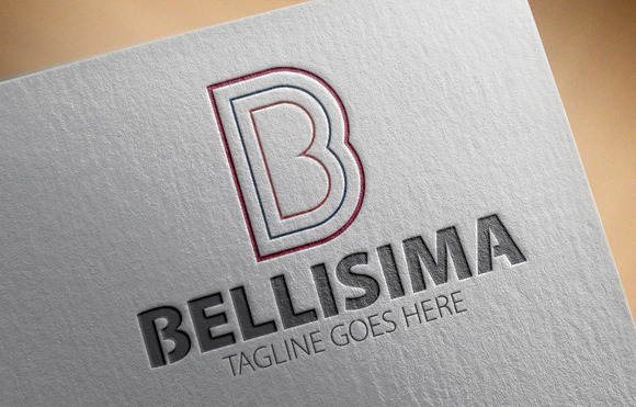 Bellisima B Letter Logo