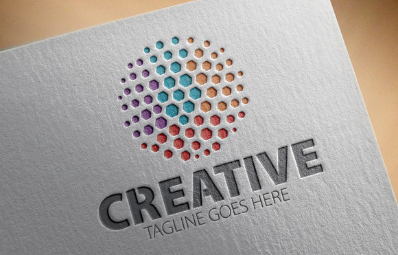 Creative V6 Logo