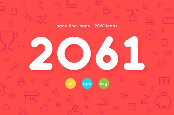 2061 Nanoline Icons