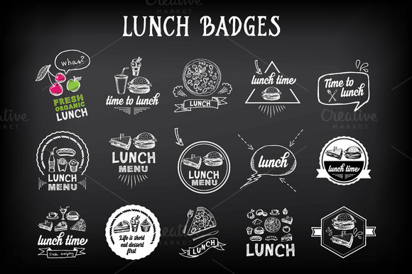 Lunch Badges