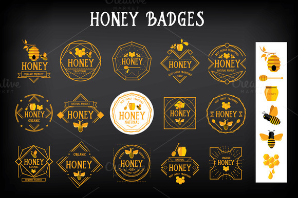 Honey Badges