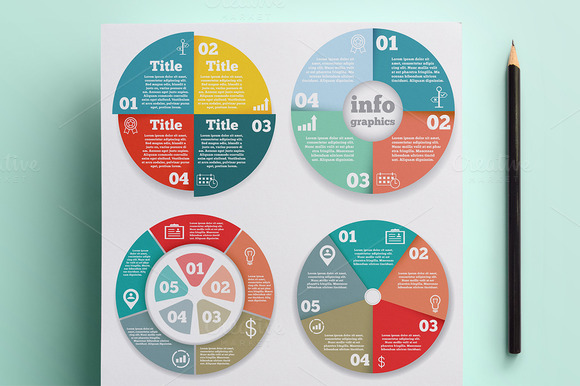 Infographics Presentation Set Vol.1