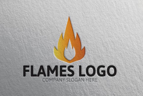 Flames Logo 40% Discount