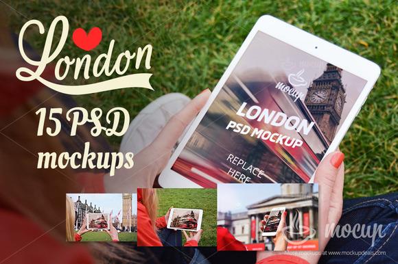 15 PSD Mockups In London