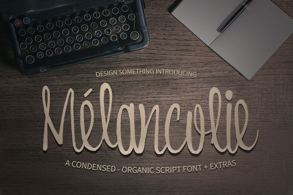 Melancolie Font Extras