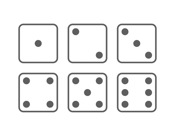 Craps Icon Set