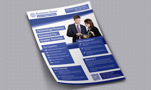 Business Flyer Template 40000