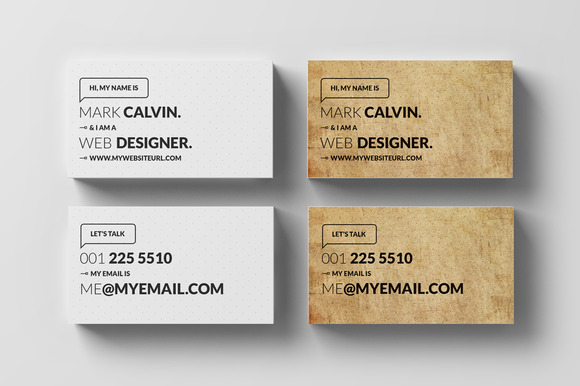 Simple Individual Business Card 53