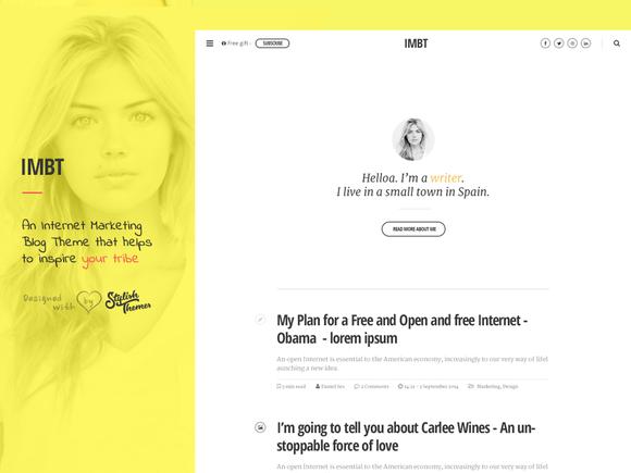 IMBT Internet Marketing Blog Theme