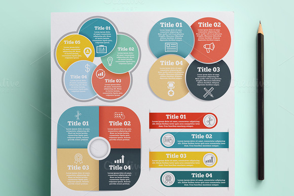 Infographics Presentation Set Vol.2