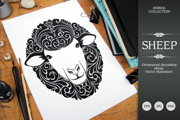 Ornamental Sheep