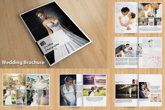 InDesign Wedding Brochure